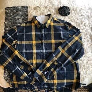 Banana Republic Plaid Button Down Shirt